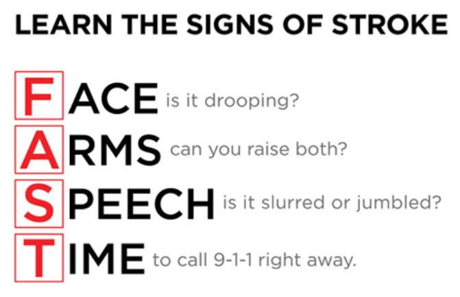 Learn the Signs of Stroke